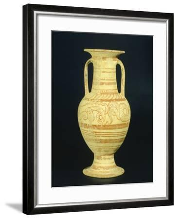 Amphora, 7th Century BC--Framed Giclee Print