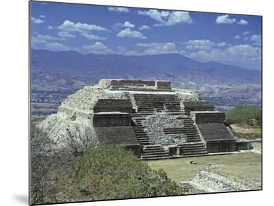 Mexico, Oaxaca State, Monte Alban Archaeological Site , Zapotec Civilization, Building M--Mounted Giclee Print