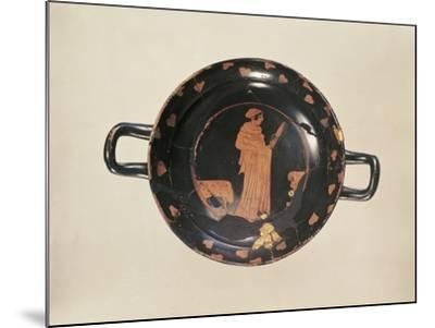 Red-Figure Attic Cup with Later Gold Trimming, from the Kleinaspergle Treasure--Mounted Giclee Print