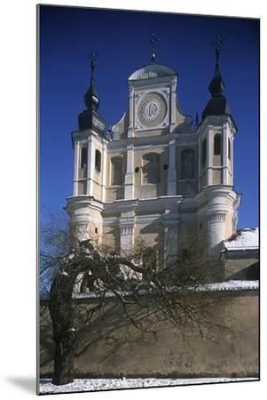 Lithuania, Vilnius, Old Town, St. Michael's Church--Mounted Giclee Print