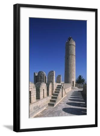 Tunisia, Ancient Sousse, Medina, Fortified Religious Building Ribat--Framed Giclee Print