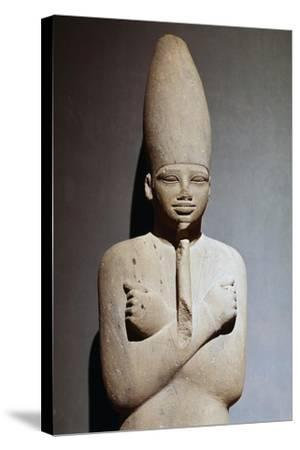 Osiriform Statue of Mentuhotep II--Stretched Canvas Print