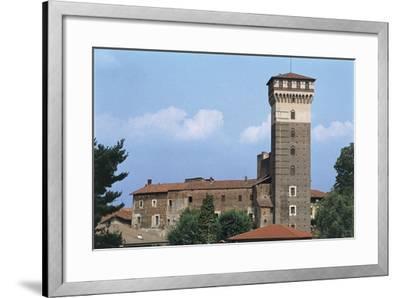 Italy, Piedmont Region, Castle of Rovasenda--Framed Giclee Print