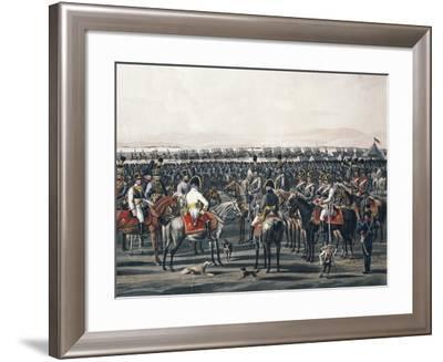 Austrian Cavalry, Napoleonic Wars, Austria--Framed Giclee Print