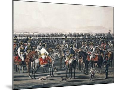 Austrian Cavalry, Napoleonic Wars, Austria--Mounted Giclee Print