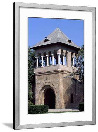 Door to Courtyard of Mogosoaia Palace, Bucharest, Romania--Framed Giclee Print
