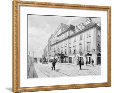 Austria, Vienna, Theatre on Wien River--Framed Giclee Print