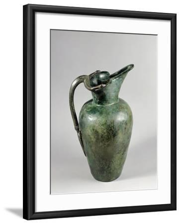 Oinochoe in Bronze from Tomb of Vix in Burgundy, France, 6th-5th Centuries BC--Framed Giclee Print