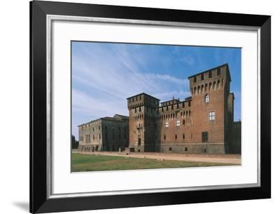 Italy, Lombardy Region, Castle of San Giorgio Di Mantova--Framed Giclee Print