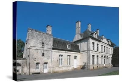 France, Nord-Pas-De-Calais, Duisans, Castle--Stretched Canvas Print