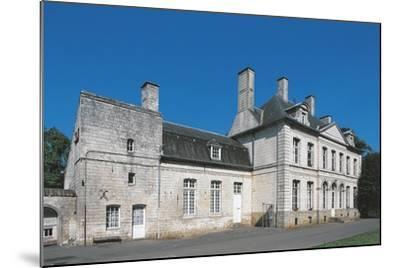 France, Nord-Pas-De-Calais, Duisans, Castle--Mounted Giclee Print