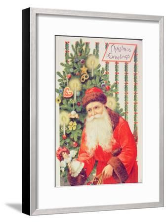 Santa Claus--Framed Giclee Print