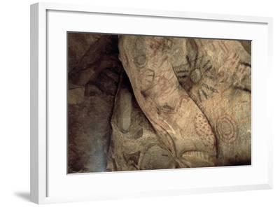 Cave Paintings Near Village of Catavina, Central Desert, Baja California Norte, Mexico--Framed Giclee Print