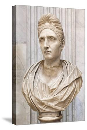 Portrait of Plotinia, Second Century Ad, Vatican Museum, Rome, Italy--Stretched Canvas Print