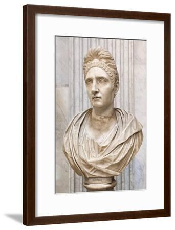 Portrait of Plotinia, Second Century Ad, Vatican Museum, Rome, Italy--Framed Giclee Print