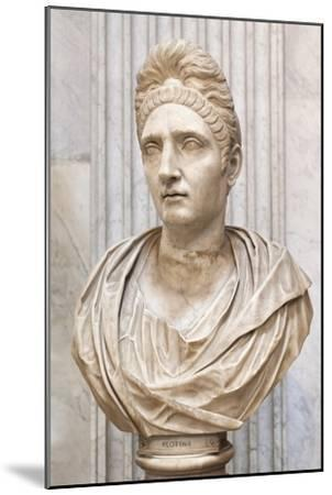 Portrait of Plotinia, Second Century Ad, Vatican Museum, Rome, Italy--Mounted Giclee Print