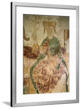 Branch of Jesse, Chapel of Saint-Jean, Certosa of Liget, France, 12th Century--Framed Giclee Print