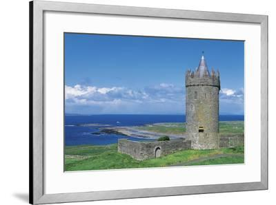 Ireland, Galway Bay, Dunguaire Castle--Framed Giclee Print