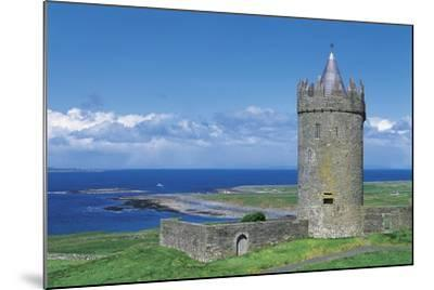 Ireland, Galway Bay, Dunguaire Castle--Mounted Giclee Print
