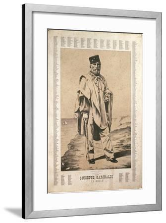 Garibaldi and the Names of the Thousanded in Italy--Framed Giclee Print