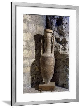Amphora from Naples, Campania, Italy--Framed Giclee Print