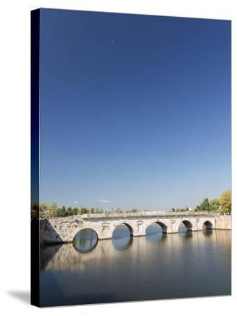 Bridge of Tiberius, 14-21 Ad, Rimini, Italy--Stretched Canvas Print