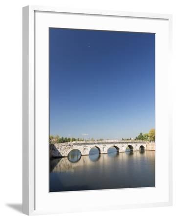 Bridge of Tiberius, 14-21 Ad, Rimini, Italy--Framed Giclee Print