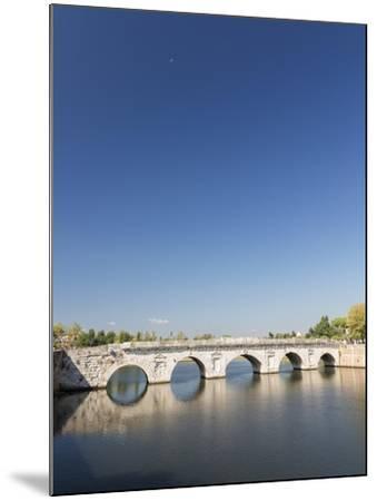 Bridge of Tiberius, 14-21 Ad, Rimini, Italy--Mounted Giclee Print