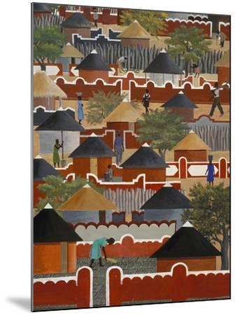 Interior of National Museum of Art, Gaborone, South East District, Botswana--Mounted Giclee Print