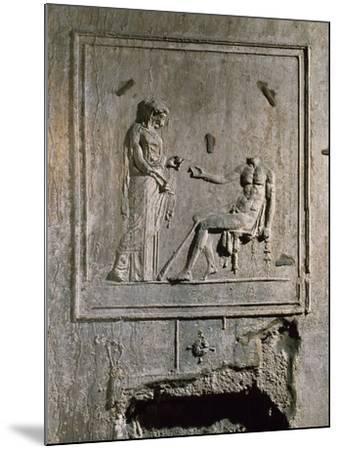 Stucco Relief from Basilica Di Porta Maggiore, Rome, Italy--Mounted Giclee Print