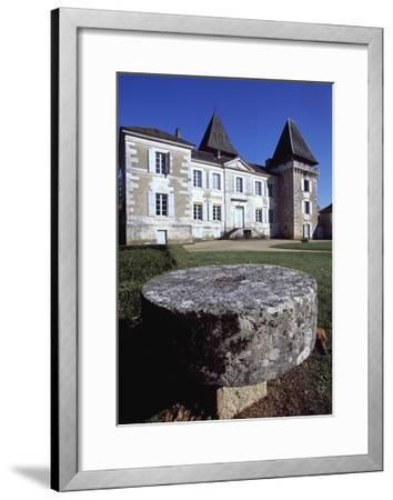 Facade of Chateau Conty, Coulaures, Dordogne, Aquitaine, France--Framed Giclee Print