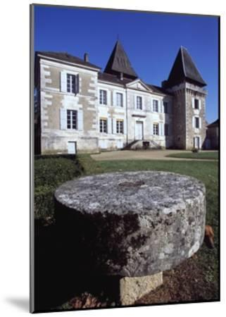 Facade of Chateau Conty, Coulaures, Dordogne, Aquitaine, France--Mounted Giclee Print