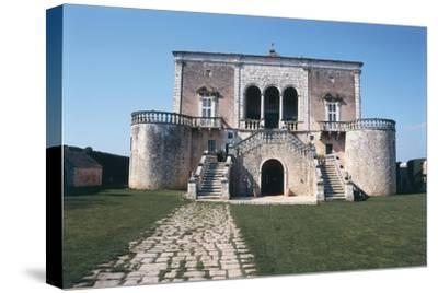 Italy, Puglia Region, Castle of Conversano--Stretched Canvas Print