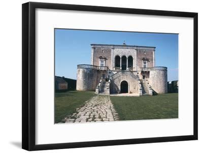 Italy, Puglia Region, Castle of Conversano--Framed Giclee Print