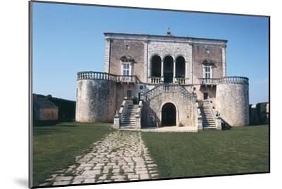 Italy, Puglia Region, Castle of Conversano--Mounted Giclee Print