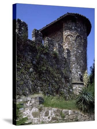 Ruins of Medieval Castle of Tricesimo, Udine, Friuli-Venezia Giulia, Italy, 13th Century--Stretched Canvas Print