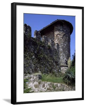 Ruins of Medieval Castle of Tricesimo, Udine, Friuli-Venezia Giulia, Italy, 13th Century--Framed Giclee Print