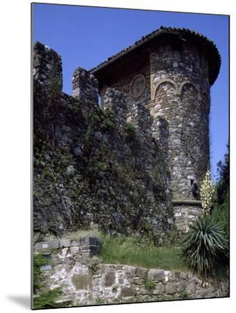 Ruins of Medieval Castle of Tricesimo, Udine, Friuli-Venezia Giulia, Italy, 13th Century--Mounted Giclee Print