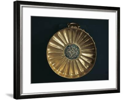 Treasure of Tanis, Gold Bowl of Undebaunded, from Tomb Number 3--Framed Giclee Print