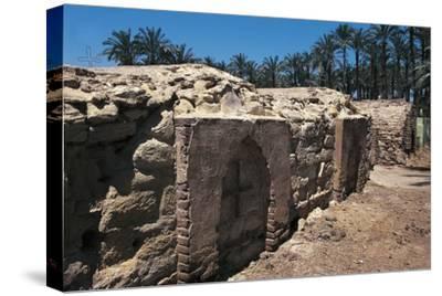 Coptic Cemetery, Medum, Egypt--Stretched Canvas Print