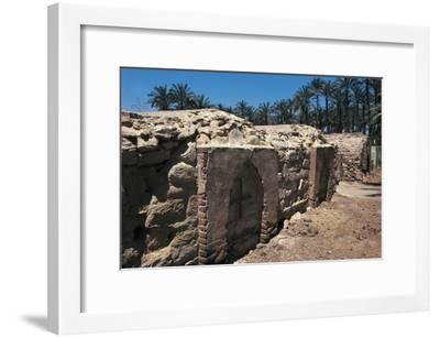 Coptic Cemetery, Medum, Egypt--Framed Giclee Print