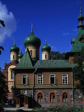 View of Puhtitsa Convent, Kuremae, Ida-Viru County, Estonia--Framed Giclee Print