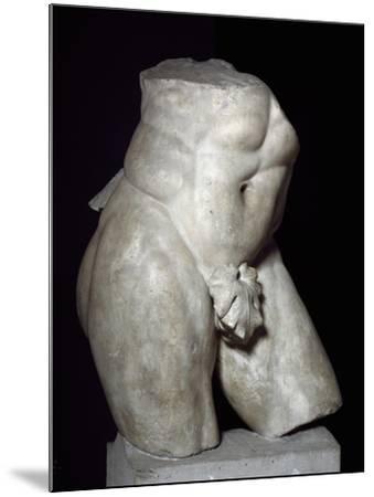 Hercules Torso in Marble--Mounted Giclee Print
