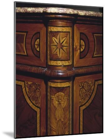 Three Drawer Commode with Rosewood and Kingwood Veneer Finish, 1770-1780, Italy, Detail--Mounted Giclee Print