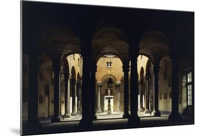 Atrium of the Doge's Palace, Genoa, Liguria, Italy--Mounted Giclee Print