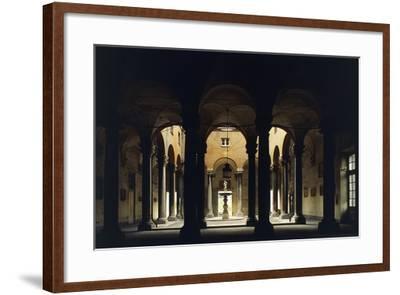Atrium of the Doge's Palace, Genoa, Liguria, Italy--Framed Giclee Print