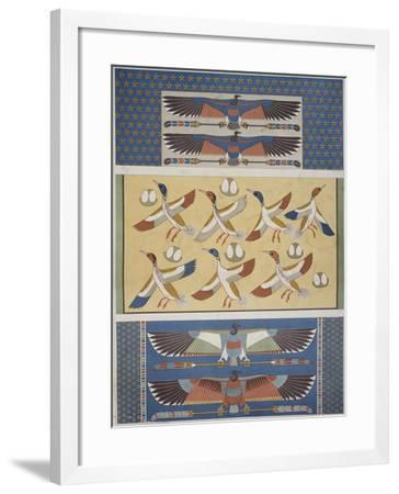 Ceiling Decorations at Thebes and Memphis--Framed Giclee Print