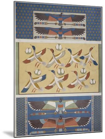 Ceiling Decorations at Thebes and Memphis--Mounted Giclee Print