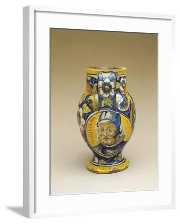 Close-Up of an Apothecary Jar, Venice, Veneto, Italy--Framed Giclee Print