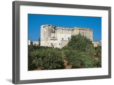 Castle of Morciano Di Leuca, Lecce, Apulia, Italy--Framed Giclee Print